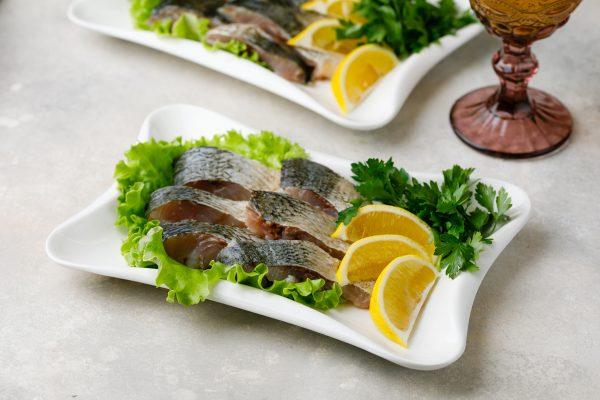 Рыбная тарелка